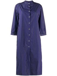 Roberto Collina платье-рубашка с воротником-стойкой