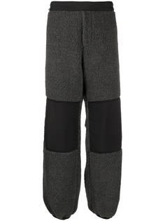 Aries спортивные брюки из шерпы