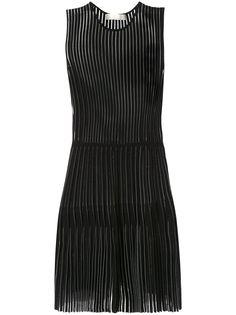 Dion Lee плиссированное платье годе