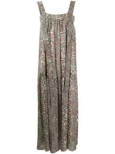 See by Chloé платье макси с геометричным принтом