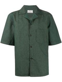 Acne Studios рубашка с заостренным воротником