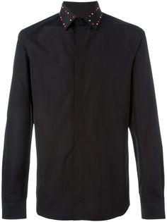 Givenchy рубашка с заклепками на воротнике