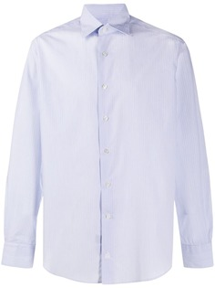 LANVIN полосатая рубашка на пуговицах