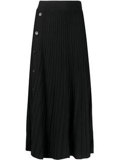 Pinko трикотажная юбка на пуговицах