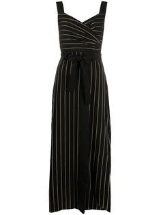 Emporio Armani платье в тонкую полоску