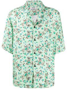 Acne Studios рубашка с короткими рукавами и цветочным принтом