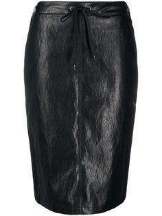Pinko юбка-карандаш из искусственной кожи
