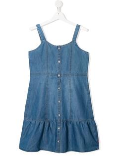 Levis Kids джинсовое платье без рукавов