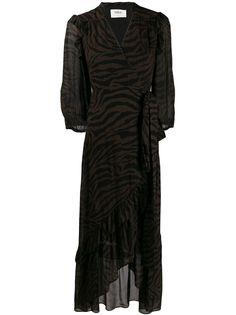 Ba&Sh платье макси Sele с запахом