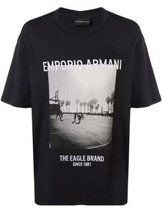 Emporio Armani photo print T-shirt