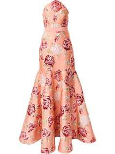 Alice McCall платье с жаккардовым цветочным узором