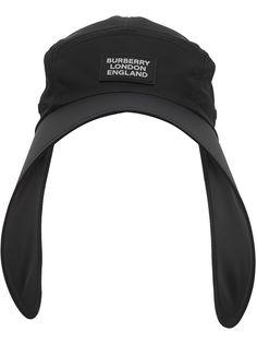 Burberry кепка с широкими полями и логотипом