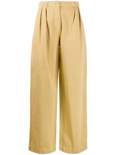 Acne Studios брюки со складками