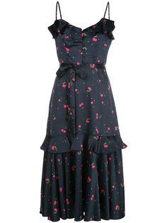 Milly платье миди с принтом