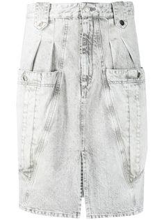 Isabel Marant джинсовая юбка миди Kalosia