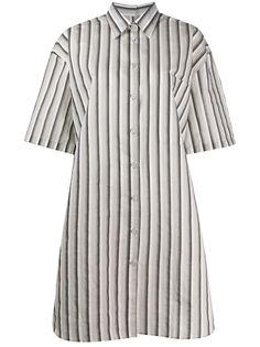 Acne Studios платье-рубашка в полоску