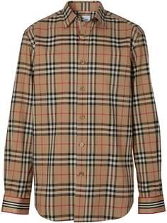 Burberry Icon Stripe cuff Vintage check shirt