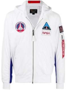 Alpha Industries куртка MA-1 TT NASA с капюшоном