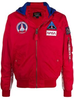 Alpha Industries MA-1 TT Nasa hooded jacket