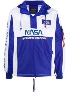 Alpha Industries анорак Scientific Odyssey с капюшоном
