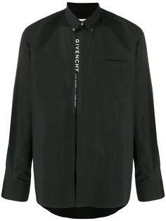 Givenchy рубашка с логотипом