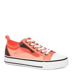Кеды ASH VERTU оранжево-розовый