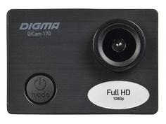 Экшн-камера Digma DiCam 170 Black