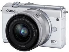 Фотоаппарат Canon EOS M200 Kit 15-45 IS STM White 3700C010