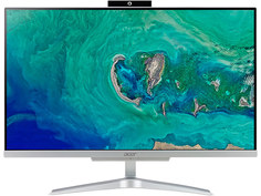 Моноблок Acer Aspire C24-865 Silver DQ.BBTER.021 (Intel Core i3-8130U 2.2 GHz/4096Mb/128Gb SSD/Intel HD Graphics/Wi-Fi/Bluetooth/Cam/23.8/1920x1080/Windows 10 Home 64-bit)