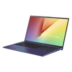 """Ноутбук ASUS VivoBook X512FL-BQ511T, 15.6"""", Intel Core i5 8265U 1.6ГГц, 8Гб, 256Гб SSD, nVidia GeForce MX250 - 2048 Мб, Windows 10, 90NB0M96-M06780, синий"""