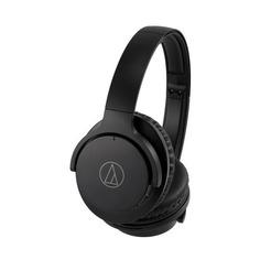 Наушники с микрофоном AUDIO-TECHNICA ATH-ANC500BT, 3.5 мм/Bluetooth, мониторные, черный [80000375]