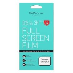 Защитная пленка для экрана BORASCO для Samsung Galaxy S20, антиблик, 3D, 1 шт [38543]