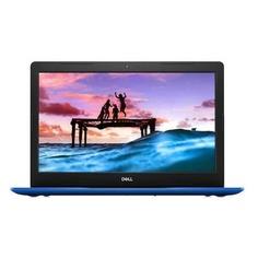 "Ноутбук DELL Inspiron 3580, 15.6"", Intel Celeron 4205U 1.8ГГц, 4Гб, 500Гб, Intel UHD Graphics 610, DVD-RW, Windows 10, 3580-8451, синий"