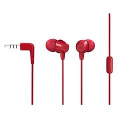 Наушники с микрофоном JBL C50HI, 3.5 мм, вкладыши, красный [jblc50hired]
