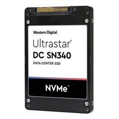 """SSD накопитель WD Ultrastar DC SN640 WUS4BB019D7P3E1 1.9Тб, 2.5"""", PCI-E x4, NVMe, U.2 SFF-8639 [0ts1961]"""