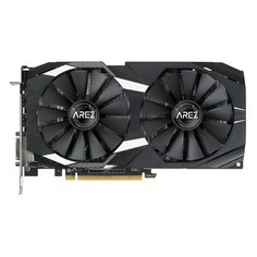 Видеокарта ASUS AMD Radeon RX 580 , AREZ-DUAL-RX580-O8G, 8Гб, GDDR5, OC, Ret