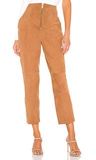 Кожаные брюки ansley - LAcademie L'academie