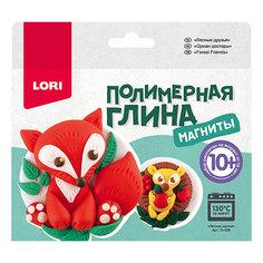Полимерная глина LORI Магниты «Лесные друзья» Лори