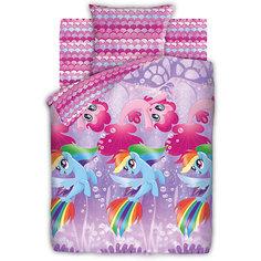 """Детское постельное белье 1,5 сп. Непоседа, """"My Little Pony"""" Подводные пони"""