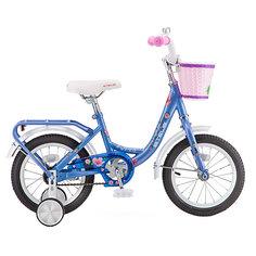 Двухколесный велосипед Stels Flyte Lady 14 дюймов, голубой