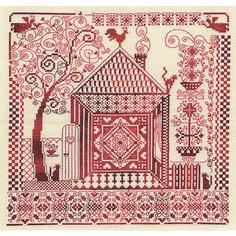 """Набор для вышивания Panna """"Счётный крест"""" Оберег домашнего очага, 30х30 см"""