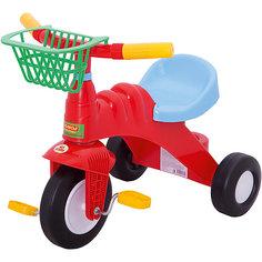 Трехколесный велосипед Полесье Малыш, красный
