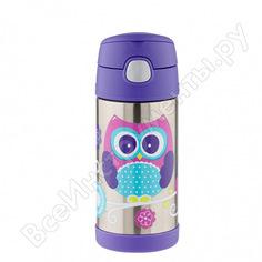 Детский термос thermos f4016ow stainless steel фиолетовый 655547