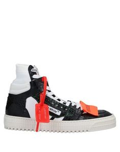 Высокие кеды и кроссовки Off White