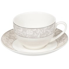 Сервиз чайный из керамики, 12 предметов, Ламберт Daniks