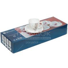 Сервиз чайный из стеклокерамики, 12 предметов, Орфей FKFB-210-130303 Daniks