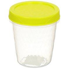 Контейнер пищевой пластмассовый Idea Ролл М 1474 салатовый, 0.75 л