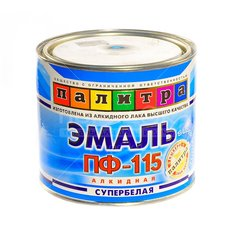 Эмаль ПФ-115 Палитра супербелая, 1.9 кг