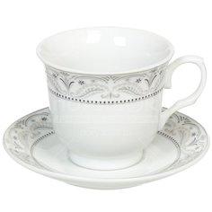 Сервиз чайный из керамики, 12 предметов, Цветочная симфония KYT12-G06 DNN, 230 мл