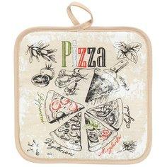 Прихватка, 18х18 см, Пицца ПЛ-018
